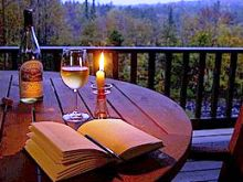 Βιβλίο και κρασί...